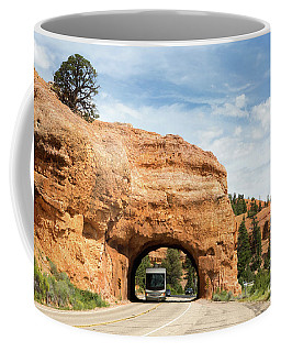 Rv Red Canyon Tunnel Utah Coffee Mug