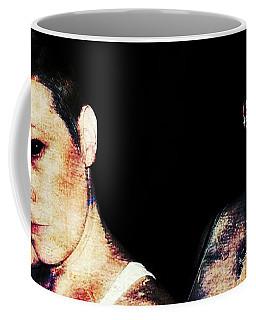 Coffee Mug featuring the digital art Ryli And Alex 1 by Mark Baranowski