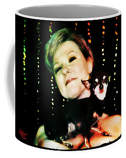 Ryli And Chi-chi 2 Coffee Mug by Mark Baranowski