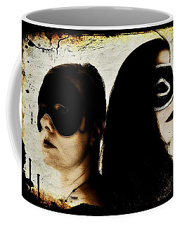 Ryli And Corinne 1 Coffee Mug by Mark Baranowski