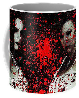 Ryli And Corinne 2 Coffee Mug by Mark Baranowski