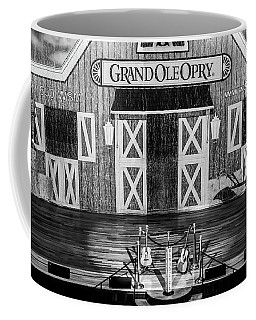 Ryman Opry Stage - Bw Coffee Mug