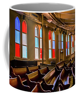 Ryman Window Pews Coffee Mug
