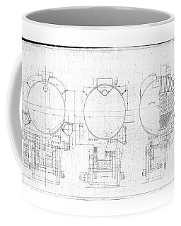 S-1a Cross Sections Coffee Mug