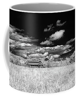 S C Upstate Barn Bw Coffee Mug