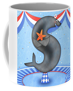 S Is For Seal And Starfish Coffee Mug
