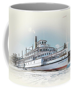 Coffee Mug featuring the photograph S. S. Sicamous II by John Poon