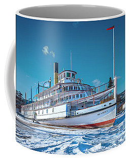 Coffee Mug featuring the photograph S. S. Sicamous by John Poon