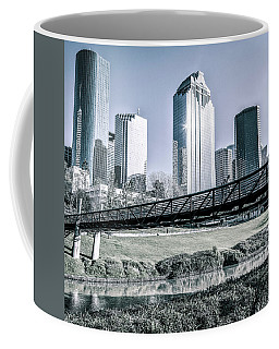 Sabine Promenade Over Buffalo Bayou Coffee Mug