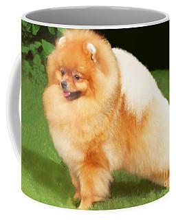 Sable Pomeranian Coffee Mug