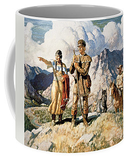 Sacagawea With Lewis And Clark During Their Expedition Of 1804-06 Coffee Mug