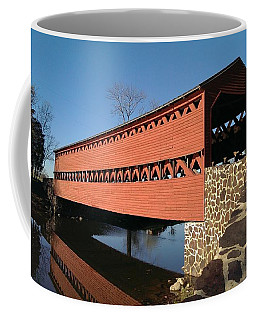 Sachs Bridge At Sunrise Coffee Mug