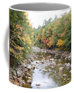 Saco River In Bartlett Nh Coffee Mug