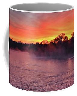 Sacramento River Sunrise Coffee Mug