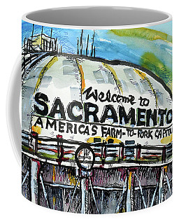 Sacramento Water Tower Coffee Mug