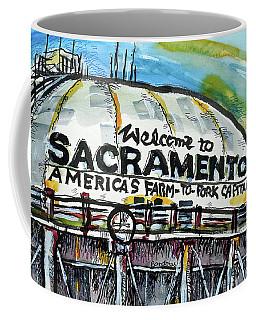 Sacramento Water Tower Coffee Mug