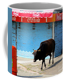 Coffee Mug featuring the photograph Sacred Cow 1 by Randall Weidner
