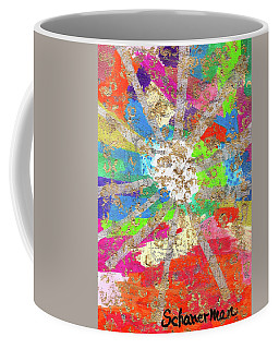 Sacred Expression Of Cosmic Abstraction Coffee Mug