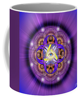 Sacred Geometry 639 Coffee Mug
