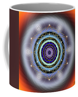 Sacred Geometry 640 Coffee Mug by Endre Balogh