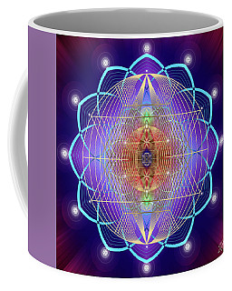 Sacred Geometry 641 Coffee Mug by Endre Balogh