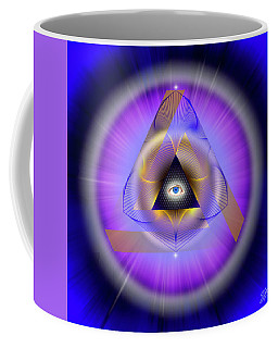 Sacred Geometry 642 Coffee Mug by Endre Balogh