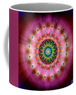 Sacred Geometry 644 Coffee Mug by Endre Balogh