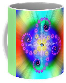 Sacred Geometry 653 Coffee Mug