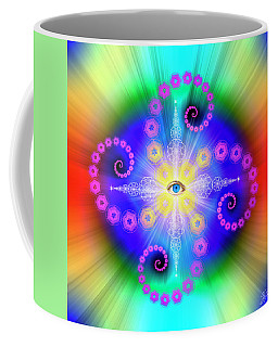 Sacred Geometry 653 Coffee Mug