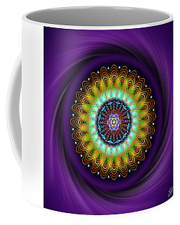 Coffee Mug featuring the digital art Sacred Geometry 710 by Endre Balogh