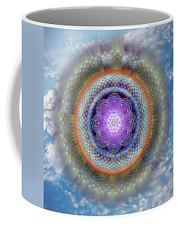 Coffee Mug featuring the digital art Sacred Geometry 716 by Endre Balogh