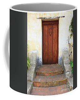 Sacred Heart Door Coffee Mug