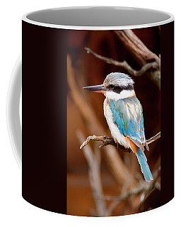Sacred Kingfisher Coffee Mug