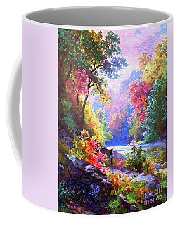 Sacred Landscape Meditation Coffee Mug