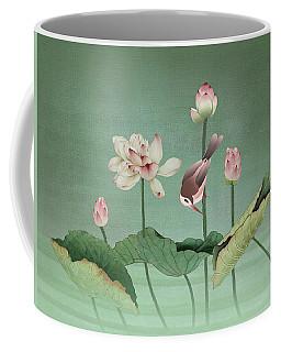 Sacred Lotus Flower Coffee Mug