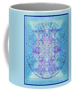 Sacred Symbols Out Of The Void A3c Coffee Mug by Christopher Pringer