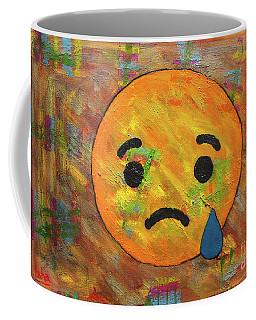 Sad Abstract Coffee Mug