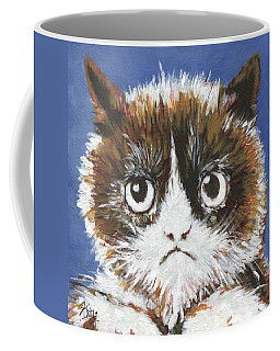 Sad Cat Coffee Mug
