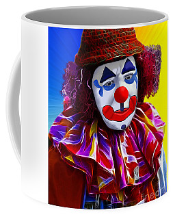 Sad Clown Coffee Mug