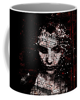 Coffee Mug featuring the digital art Sad News by Marian Voicu