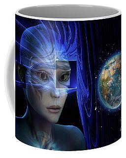 Sad Observer Coffee Mug