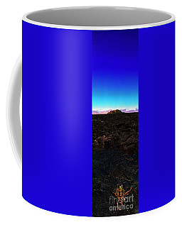 Saddle Road Humuula Lava Field Big Island Hawaii  Coffee Mug