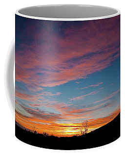 Saddle Road Sunset Coffee Mug