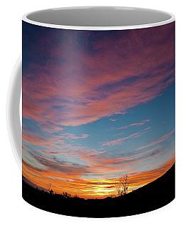 Saddle Road Sunset Coffee Mug