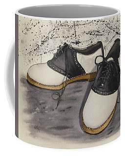 Saddle Shoes Coffee Mug by Kelly Mills