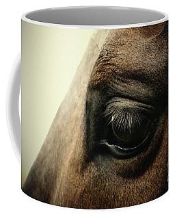 Sadness Horse Eye Coffee Mug