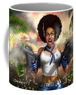 Safari Blue Coffee Mug