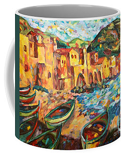 Safe Harbor Coffee Mug by Michael Cinnamond