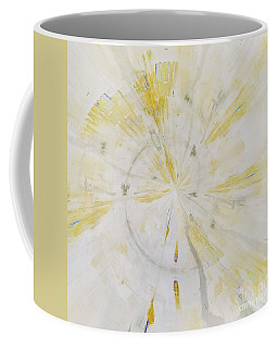 Coffee Mug featuring the mixed media Safe by Jessica Eli