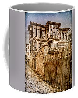 Coffee Mug featuring the photograph Safranbolu, Turkey - Imposing - Needs Work by Mark Forte